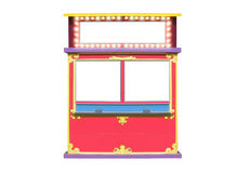 Circus Carnival Ticket Booth Stand Stock Photos