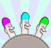 Circus cartoon Stock Image