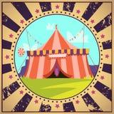 Circus Cartoon Poster Stock Photos