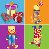Circus cat Stock Images