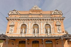 Circus Ciniselli (1877) in Saint Petersburg. UNESCO site Stock Image
