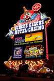 Circus Circus Casino and Hotel Resort on the Las Vegas Strip at Royalty Free Stock Photos