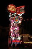 Circus Circus Casino Sign at Night Royalty Free Stock Photos
