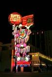 Circus Circus hotel and casino sigh at night, Reno, Nevada Stock Image