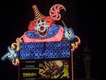 Circus Circus sign by night Las Vegas Royalty Free Stock Photo