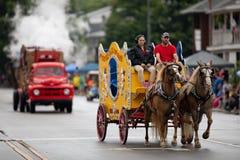 Circus City Festival Parade stock photo