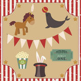 Circus clip art Stock Photo