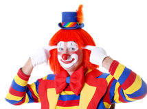Circus Clown royalty free stock image