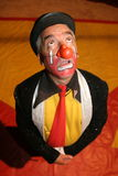 CIRCUS CLOWN. A clown with a surprised expression Stock Photos
