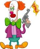 Circus clown cartoon Royalty Free Stock Photo