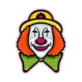 Circus Clown Mascot Stock Photography
