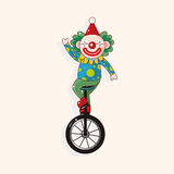 Circus clown theme elements vector,eps Stock Image