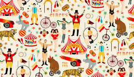 Circus collection. Royalty Free Stock Image