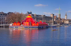 Circus Conelli in Zurich Royalty Free Stock Images