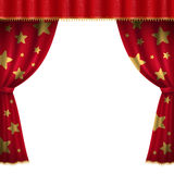 Circus curtain Royalty Free Stock Photo