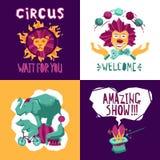 Circus Design Concept Royalty Free Stock Photo