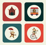 Circus design Royalty Free Stock Images