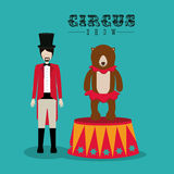 Circus design Royalty Free Stock Photography