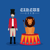 Circus design Stock Images