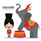 Circus design Stock Photo