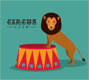 Circus design Stock Photos