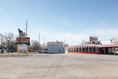 Circus Drive-In Royalty Free Stock Photography