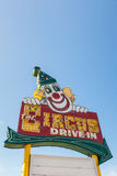 Circus Drive-In Stock Images