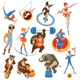 Circus elements Stock Photography