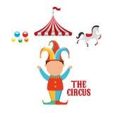 Circus entertainment design. Illustration eps10 graphic Stock Photos