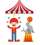 Circus entertainment design. Illustration eps10 graphic Stock Photo