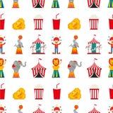 Circus entertainment design. Illustration eps10 graphic Stock Image