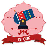 Circus entertainment Stock Photo