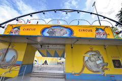 Circus entrance Stock Images