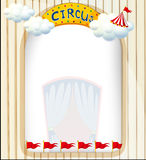 A circus entrance Stock Images