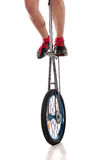 Circus equipment - unicycle Royalty Free Stock Image