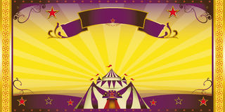 Circus extra invitation Royalty Free Stock Photography