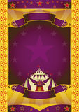 Circus extra poster Stock Image