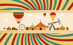 Circus fair day Royalty Free Stock Image