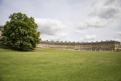 The Circus, famous circular Royal Crescent building in Bath Stock Image