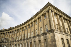 The Circus, famous circular Royal Crescent building in Bath Stock Photo