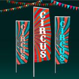 Circus Flags Image Stock Photography