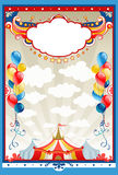Circus frame vector illustration