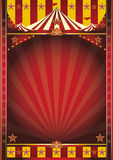 Circus frame poster Royalty Free Stock Photo
