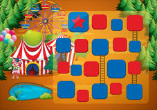 Circus game Royalty Free Stock Image