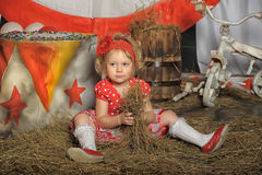 The circus girl Stock Photography