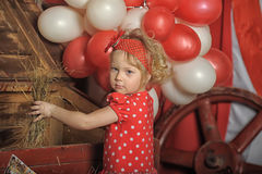 The circus girl Royalty Free Stock Photo