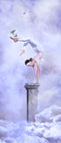 Circus in the heaven Royalty Free Stock Photo
