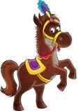 Circus horse Stock Photos