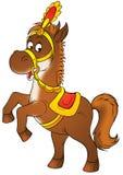 Circus horse Stock Image