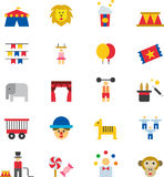 Circus icon set Stock Images
